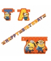 Minions Happy Birthday wenslijn